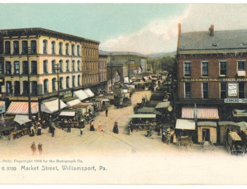 Market Square: Postcards of Yesteryear